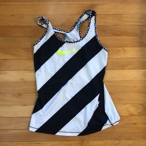 Brand new Nike striped tank top